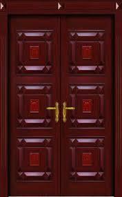 Kerala Style Home Front Door Design by Wooden Double Door Main Entrance Door Designs Double Door Adam