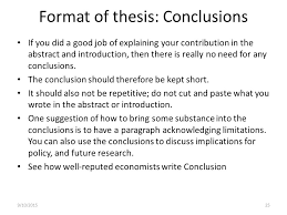 Thesis  General remarks The goal of these meetings      To get you     SlidePlayer