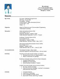 Example Job Resume by Sample Resume For Call Center Agent With No Work Experience