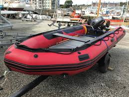 4 3m mercury quicksilver rib with 15hp yamaha outboard and road