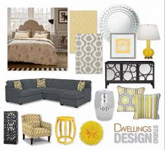 hello grey u0026 yellow dwellings design
