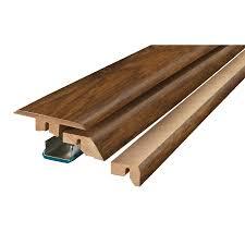 Laminate Flooring No Transitions Shop Floor Moulding U0026 Trim At Lowes Com