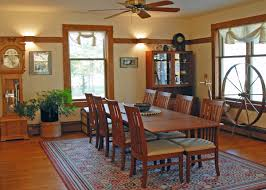 Craftsman Style Dining Room Furniture B U0026 B Images Whitefish Bay Farm