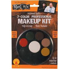 amazon com 7 color professional makeup kit reel f x halloween