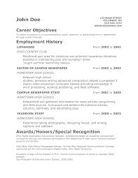 resume format objective a good resume example ex examples of resumes objective statement resume good statements