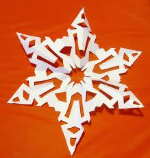 How to Make a   Sided Snowflake     Preschool Powol Packets Preschool Powol Packets