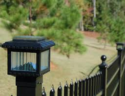 Solar Fence Lighting deck depot the 1 place to buy deck lighting post caps deck
