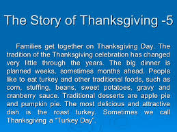 Story On Thanksgiving Something About Thanksgiving Presented By Lynn Luo Ppt Download