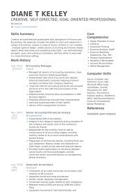 Accounting Resume Examples by Accounting Manager Resume Samples Visualcv Resume Samples Database