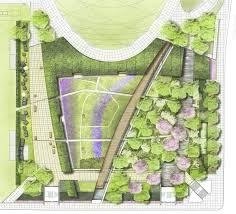 Grant Park Chicago Map by Millennium Park The Lurie Garden Landscape Voice