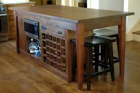 Wine Rack Kitchen Island by A Custom Kitchen Island Finewoodworking