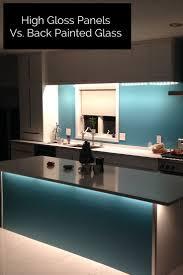 Painted Kitchen Backsplash Photos Best 25 Back Painted Glass Ideas On Pinterest Glass Tile