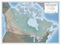 Canada Rail Map by Transportation In Canada 2016 Transport Canada