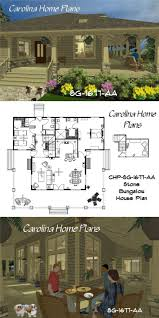 craftsman style bungalow house plans 76 best house plans with porches images on pinterest screened