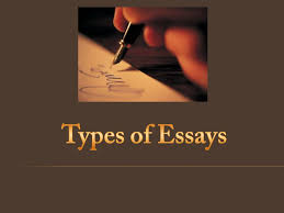 types of essays Types of essays