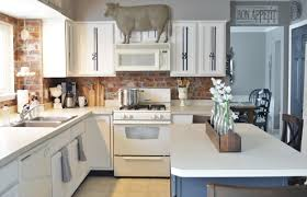 Kitchen Cabinet Cornice by Painted Kitchen Cabinets Adding Farmhouse Character U2014 The Other