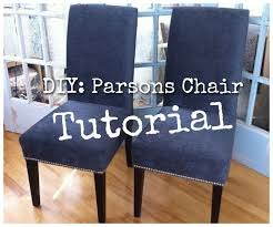Pattern For Dining Room Chair Covers by Best 25 Parsons Chairs Ideas On Pinterest Parson Chair Covers