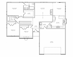 Split Level Ranch Floor Plans by 3 Bedroom House Floor Plan There Are More Perfect Simple Floor