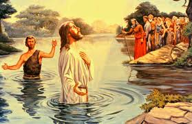 Image result for jesus being baptized