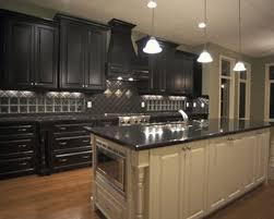 marvelous dark cabinet kitchen designs decor collection kitchen by