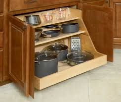 How To Organize Your Kitchen Cabinets by Shelf Wood Pull Out Organizers With Soft Close Slides For Kitchen
