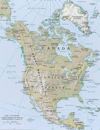 Blank Physical Map Of Russia by Color Blank Map Of North America