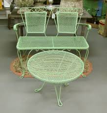 Mesh Patio Chairs by Vintage Patio Furniture Let 39 S Face The Music Vintage Patio