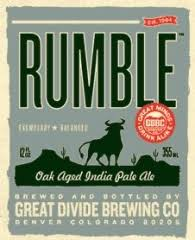 Great Divide Rumble IPA | GreatBrewers.