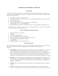 How To Write A Good Summary For Resume  good resume summaries