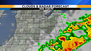 Weather Map Ohio Severe Storms Including Tornadoes Possible On Labor Day In