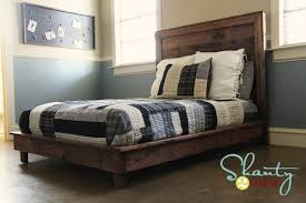 Plans To Build A Platform Bed With Storage by Ana White Hailey Platform Bed Diy Projects