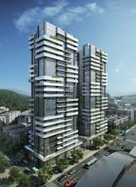 The Building  Queens Domain Melbourne  Queens Road Melbourne - Apartment building design