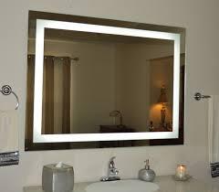 lighted bathroom vanity mirror led wall mounted 48