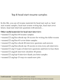 start a resume writing business this example nissan motors sales resume sample we will give you a top8headstartresumesamples 150614071756 lva1 app6892 thumbnail 4jpgcb1434266322 start resume