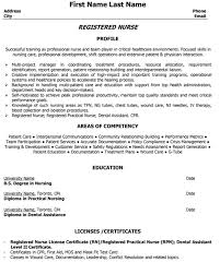 ideas about Rn Resume on Pinterest   Nursing Resume      registered nurse resume sample