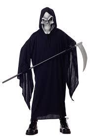 Kids Skeleton Halloween Costume by Amazon Com California Costumes Grim Reaper Child Costume Large