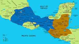 Map Of Western Caribbean by Alternate History Map Of Mesoamerica By Plumed Serpent Deviantart