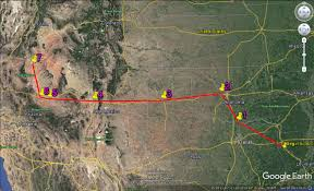 Lake Powell Map Goza U0027s Wanderings And Wonderings Glen Canyon Dam And Lake Powell