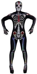 women u0027s day of the dead costume ladies halloween sugar skeleton