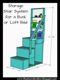 Plans For Bunk Bed With Steps by Impressive Bunk Bed Stairs Plans And Built In Bunk Beds Fpudining
