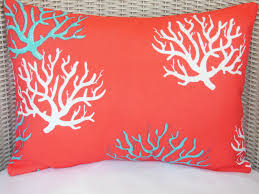 Large Sofa Pillows Back Cushions by Outdoor Coral Throw Pillows Pretty Coral Throw Pillows For