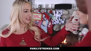 Family Strokes chrismass fucking|
