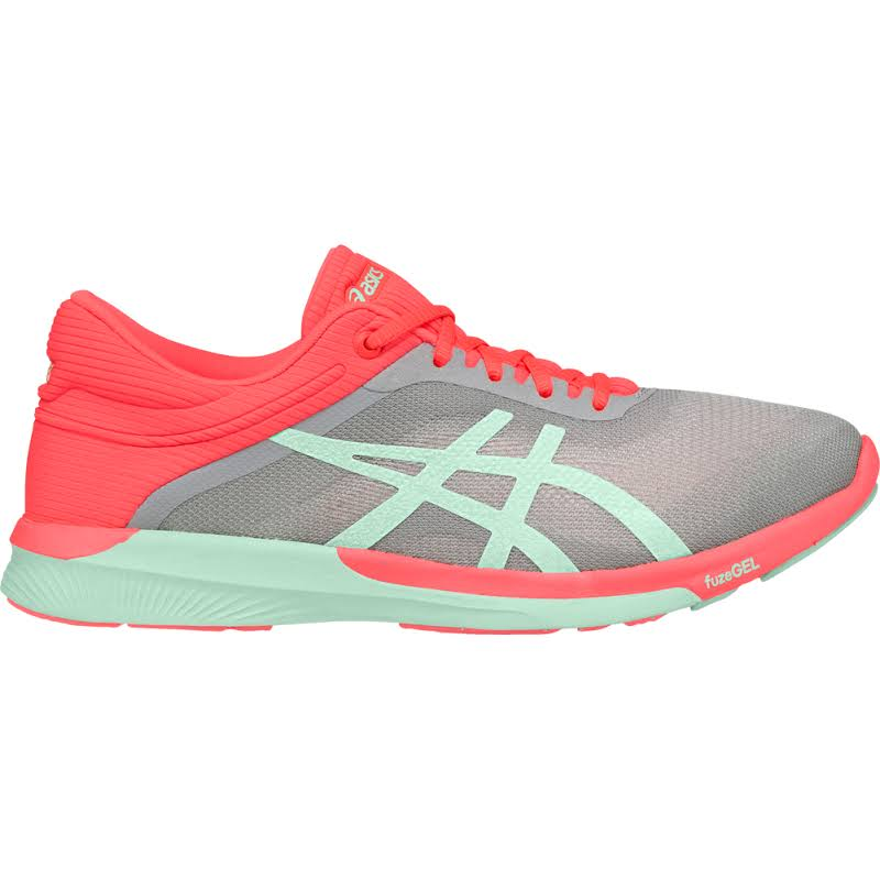 ASICS FuzeX Rush Running Shoes Grey- Womens