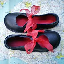 ideas about Uk   on Pinterest   Tim walker  Tim walker     Handmade leather Fairytale shoes  D fitting  Jet black  LUNA      by Fairysteps