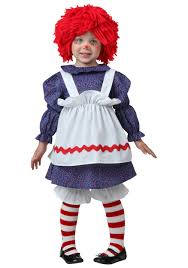 Chubby Halloween Costumes Toddler Rag Doll Costume