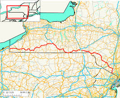 Big Map Of The United States by New York State Route 17 Wikipedia