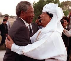 Mandela e Gheddafi