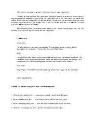 Writing a descriptive essay person SlideShare