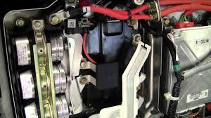 honda civic hybrid high voltage system operation youtube