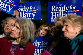 Image result for hillary female supporter pics